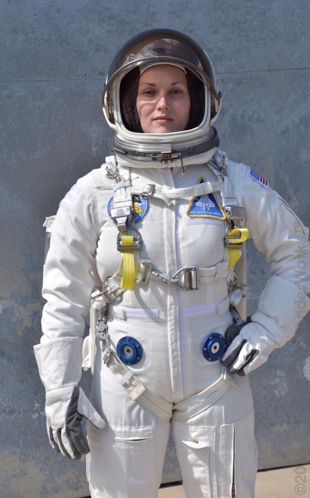 Ladies Spaceman Costume Silver Astronaut Space Women Nasa Womens Jumpsuit